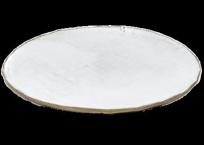FCK Plate White Large 28cm