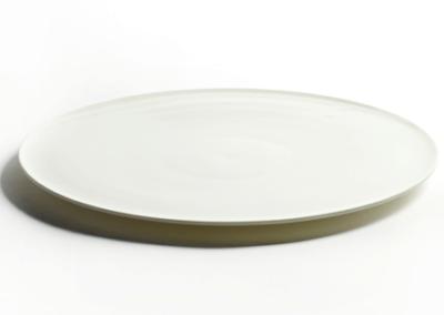 Lens Plate Large White 27cm