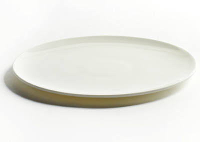 Lens Plate Small White 16cm
