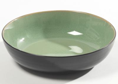 Pure Bowl Acqua Green 20cm