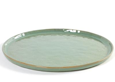 Pure Plate Aqua Green 28cm