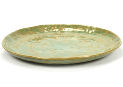 Pure Plate Sea Green 28cm
