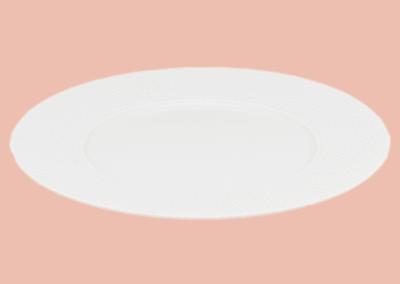 Perles de Rosée Presentation Plate Wide Rim 32cm