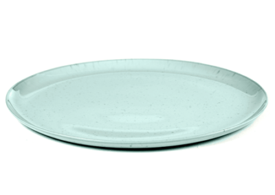 Plate Light Blue 22cm