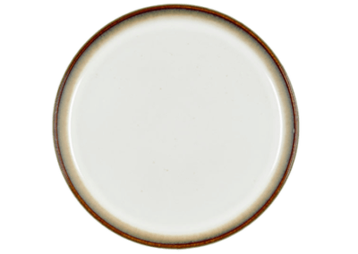 Gastro Plate Matte Grey/Shiny Cream 21cm