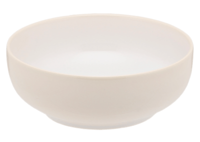 Mondo Salt White Bowl 19cm