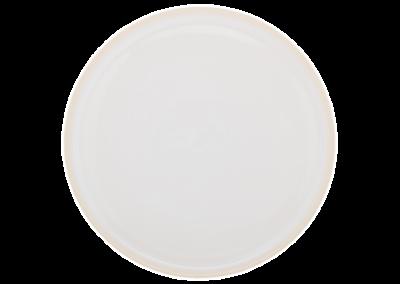 Mondo Salt White Plate 26cm